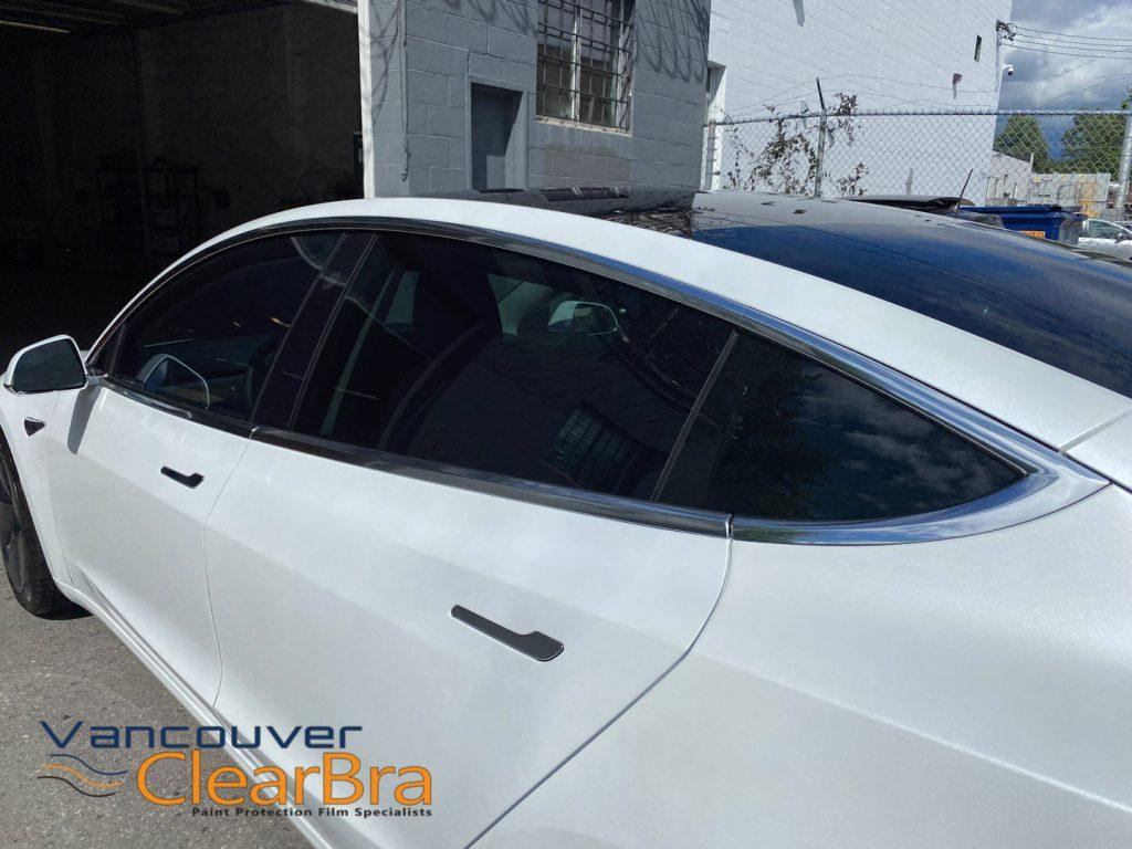 Window Tinting Tesla - Tesla Vancouver Clear Bra